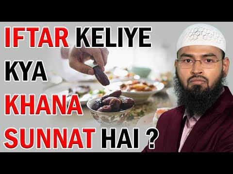 Iftar Keliye Kya Khana Sunnat Hai Kya Namak Se Iftar Karna Durust Hai By Adv. Faiz Syed