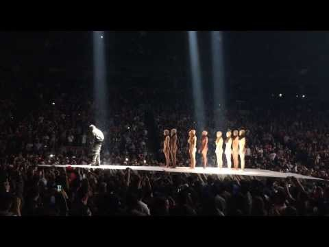 Kanye West Yeezus Tour - Toronto Highlights (HD)