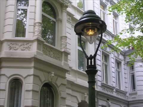 Historische Gaslaternen in Bonn am Rhein, Südstadt ...  ☼  rare gas-street-lamps at Bonn, Germany