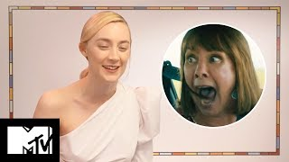 Saoirse Ronan Reveals Lady Bird Deleted RAP Scene And Her Funniest Moments | MTV Movies