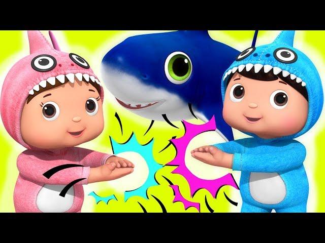 Baby Shark!   Baby Songs   Nursery Rhymes & Kids Songs   Little Baby Bum