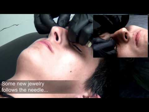 Bridge / Erl / Mid Brow Surface Piercing Video