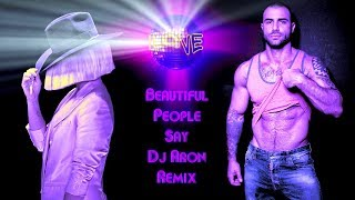 Download SIA 🔥 BEAUTIFUL PEOPLE SAY 🔥 DJ ARON REMIX FULL VERSION 🔥 MP3 song and Music Video