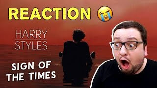 Harry Styles - Sign of the Times (Russian's REACTION)