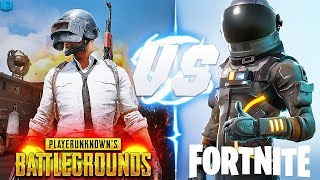 PUBG VS FORTNITE-REAL LIFE VIDEO, WHO WINS THIS BATTLE!?