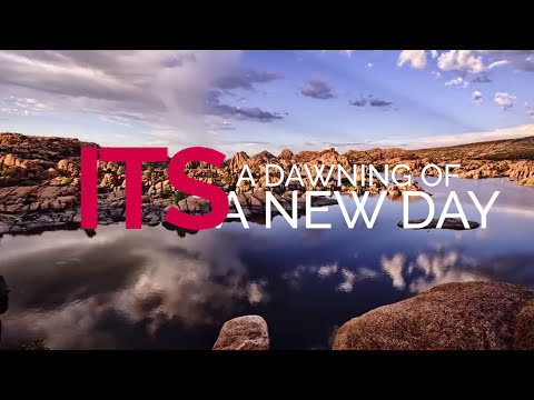 Dawning of a new day (lyrics video)