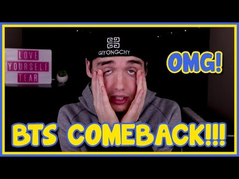 BTS IS OFFICIALLY COMING BACK LET'S FREAK OUT!!!