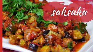 Gambar cover Turkish SAKSUKA (Fried Eggplants in Tomato-Garlic Sauce)