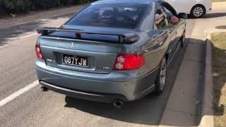 VZ Monaro Exhaust Custom with Factory Mid Muffler