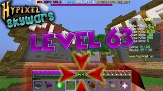 """""""Leveling Up to Level 63!"""" (Skywars)"""