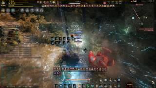 [黒い砂漠] 2017.01.11 拠点戦 [ScV] / Black Desert JP Awakening Witch node war   Kirica