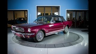 SOLD 1966 Ford Mustang Convertible