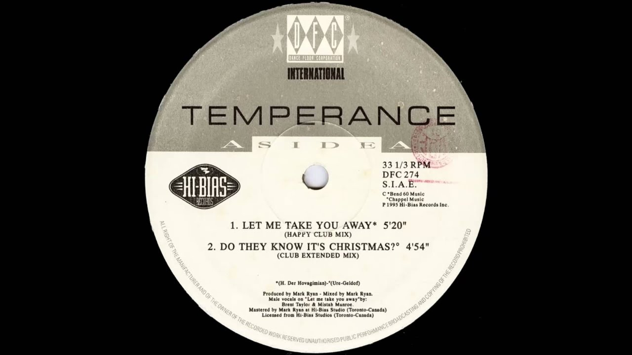 Temperance - Do They Know It\'s Christmas (Club Extended Mix) - YouTube