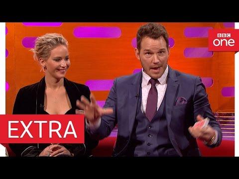 Chris Pratt's epic card trick fail - The Graham Norton Show 2016   Extra - BBC One