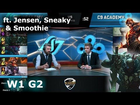 CLG Academy vs Cloud 9 Academy | Week 1 NA Academy League Summer 2018 | CLGA vs C9A