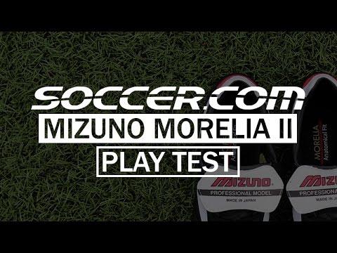 SOCCER.COM Play Test : Mizuno Morelia II