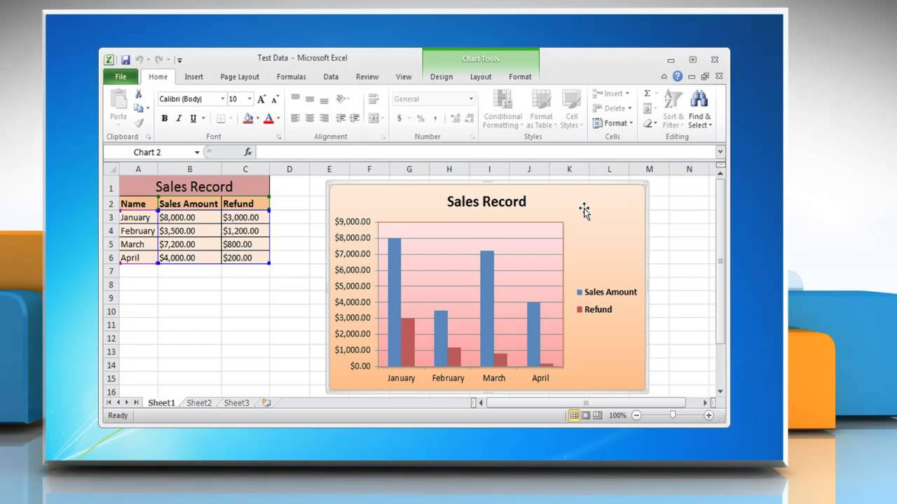 how to draw graph in excel 2007 bar graph