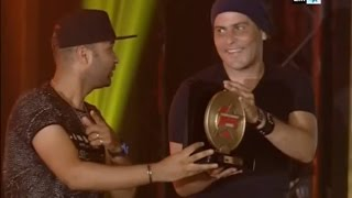 Morocco Music Award 2016   أمين أيوبي و ماسطا فلو - توزيع الجوائز