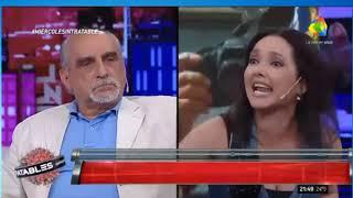 CANTANTE VENEZOLANA LE RESPONDE A COMUNISTA ARGENTINO EN PROGRAMA DE TV