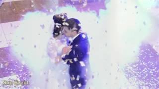 Свадебный танец в Одессе с пушкой конфетти!(, 2016-12-05T22:34:21.000Z)
