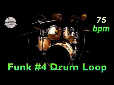 Funk #4 Drum Loop 75 bpm