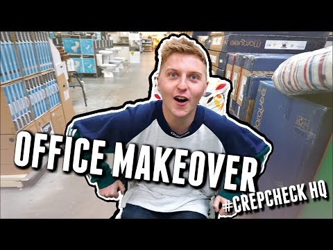 OFFICE MAKEOVER | SEANELLIOTTOC