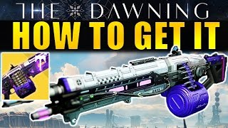 Destiny: How to get the Nova Mortis Exotic Machine Gun (Complete Guide) | The Dawning
