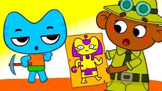 Котики, вперед! - Сойдёт и так! - Серия 33 - развивающие мультфильмы для детей