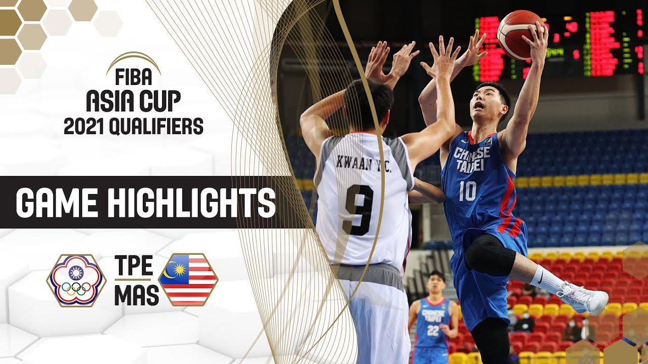 Chinese Taipei beat Malaysia by a margin of 104 points! Highlights - FIBA Asia Cup 2021
