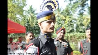 The 256th  Army Service Corps  Day @ Bengalooru  :   08  Dec 2016 Wreath Laying Part2