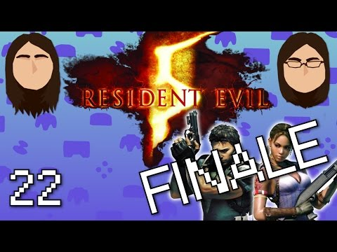 64-bit Siblings Co-op! Resident Evil 5 - FINALE - Part 22