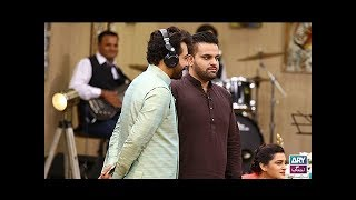 """Faysal Qureshi, Barkat, Uzmi, Amber Khan & Aadi playing """"Kuch Kaha Kia"""""""