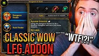 Asmongold Reacts To Classiclfg Lfg Addon For Classic World Of Warcraft
