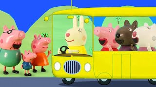 Peppa Pig Official Channel | Wheels On The Bus | Nursery Rhymes for Babies & Kids Songs