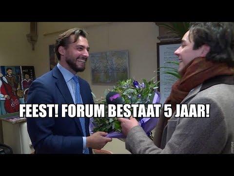 FvD bestaat 5 jaar: Baudet en Slijptol vieren feest