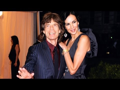Mick Jagger spotted with younger woman after L