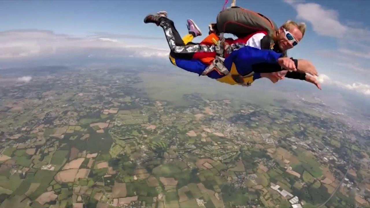parachutisme la baule