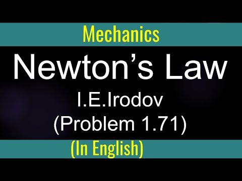 Law of Motion  13  Problem 1 71 for IIT by Guru Sir @Ranchi