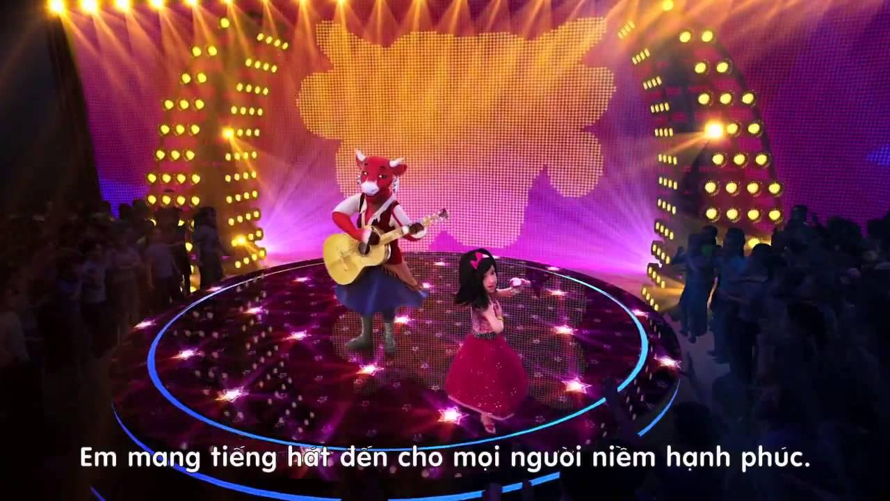 Quảng cáo phô mai Con Bò Cười 2013 Chắp cánh ước mơ, bé thêm cao lớn