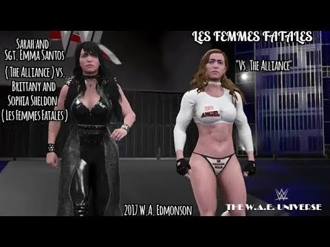 WWE 2K17 Divas: Les Femmes Fatales ( Episode 4: vs. The Alliance )
