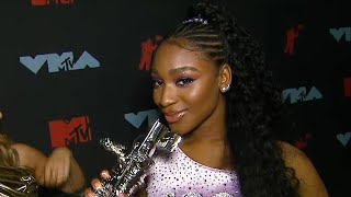 Normani REACTS to Her Show-Stopping VMA Performance (Exclusive)