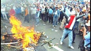 PILPRES 2019 RUSUH || LETUSAN SENJATA DI LHOKSEUMAWE POS TNI AL HAMPIR HANGUS