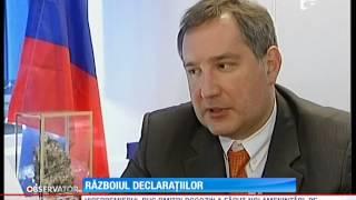 Războiul declaraţiilor a început între Rusia şi România