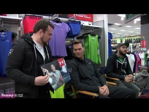 Tom Brady: On Set With A Super Fan
