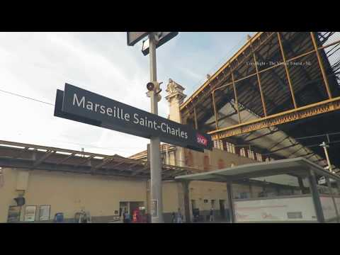 Marseille - Saint Charles Train Station in France 1