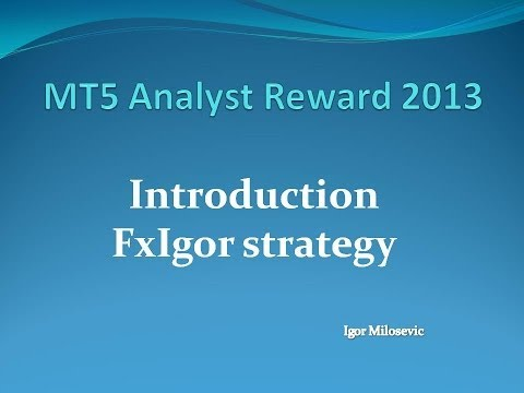 RSI trendline strategy Introduction - MT5 Analyst Reward Competition