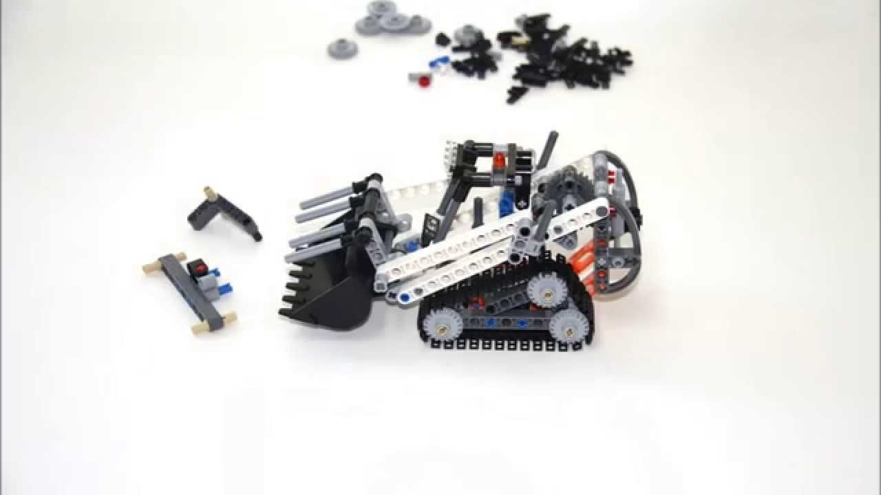 Lego Technic 42032 Stop Motion Youtube
