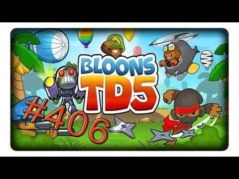 [Coop - Mittel] Checkers #406 || Let's Play BTD 5 | BLOONS TOWER DEFENSE 5 | Deutsch | German