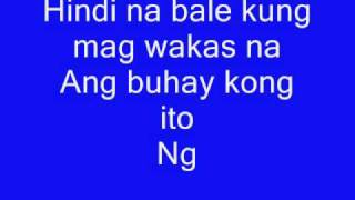 hindi na bale-jessa zaragosa