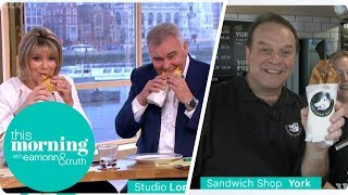 Eamonn and Ruth Try the Yorkshire Pudding Wrap | This Morning
